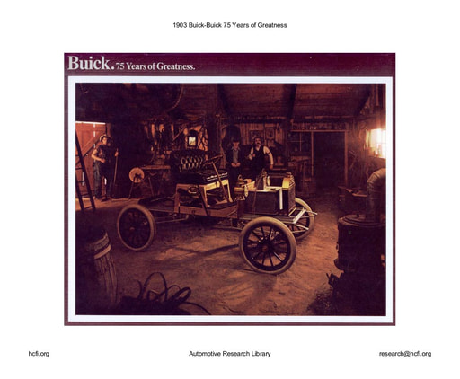 1903 Buick   75 Years of Greatness (15pgs)