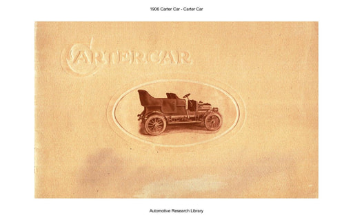 1906 Carter Car (15pgs)