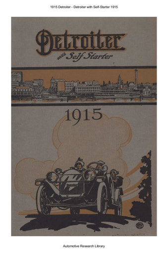 1915 Detroiter   With Self Starter (17pgs)