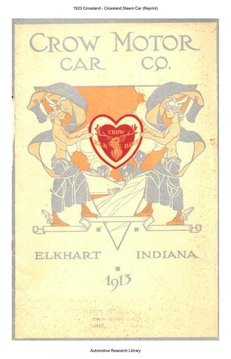 1913 Crow Elkhart Motor Car Co  (33pgs)