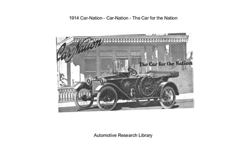 1914 Car Nation   The Car for the Nation (14pgs)