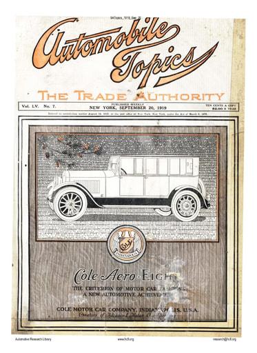 Auto Topics | 1919 Sep 20