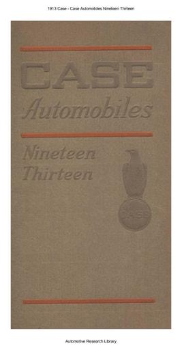 1913 Case (35pgs)