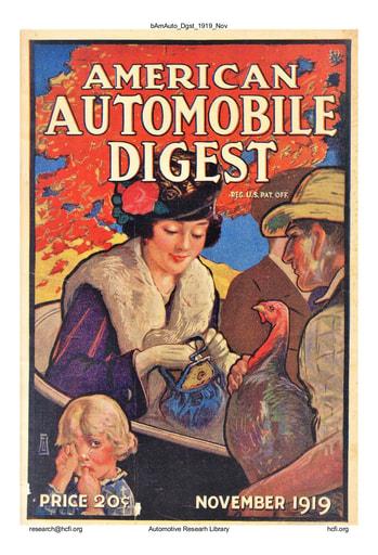 American Automobile Digest - 1919 November