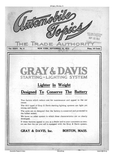 Auto Topics | 1914 Sep 19