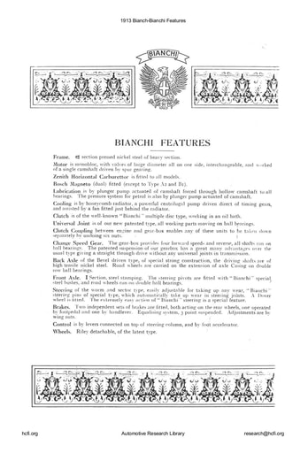 1913 Bianchi   Features (18pgs)