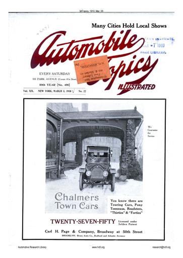 Auto Topics | 1910 Mar 05