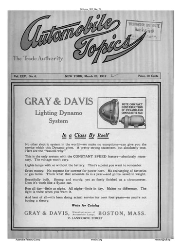 Auto Topics | 1912 Mar 23