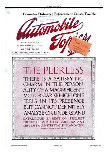 Auto Topics   1910 Aug 13