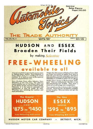 Auto Topics | 1931 May 30