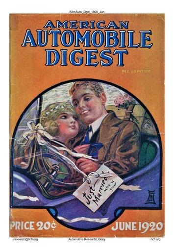 American Automobile Digest - 1920 June