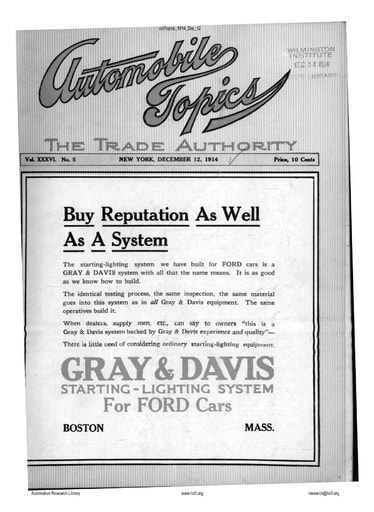 Auto Topics | 1914 Dec 12