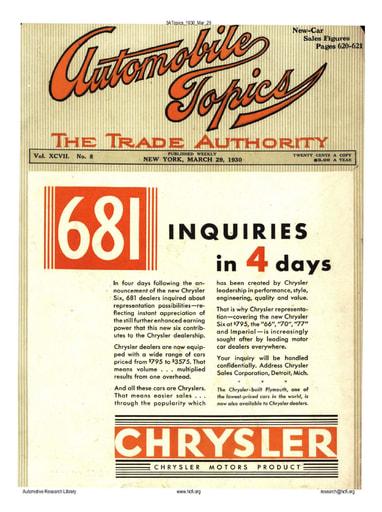 Auto Topics | 1930 Mar 29