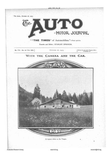 Auto Motor Journal | 1915 Oct 28