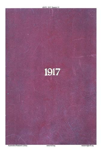 CATJ 1917 13 Special