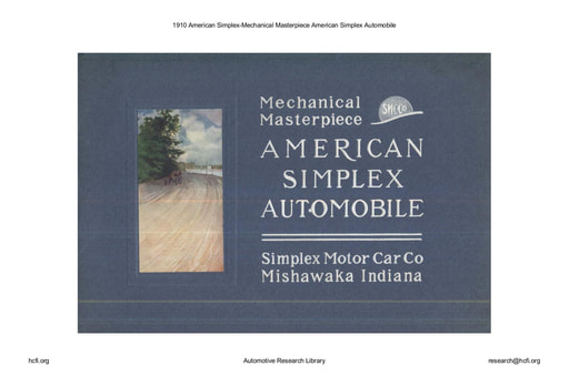 1910 American Simplex   Mechanical Masterpiece (23pgs)