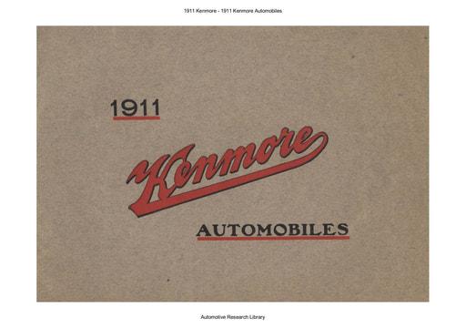 1911 Kenmore   1911 Kenmore Automobiles