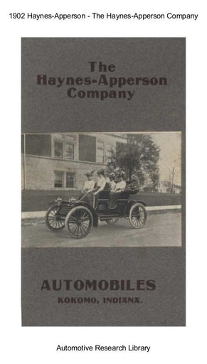 1902 Haynes Apperson Co (13pgs)