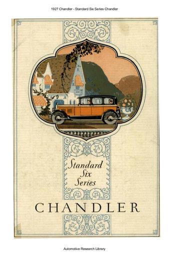 1927 Chandler   Standard Six Series (4pgs)