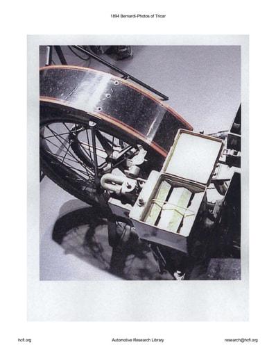 1894 Bernardi   Photos of Tricar (12pgs)