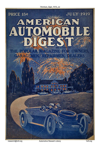 American Automobile Digest - 1919 July