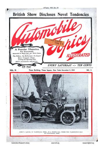 Auto Topics | 1905 Dec 09
