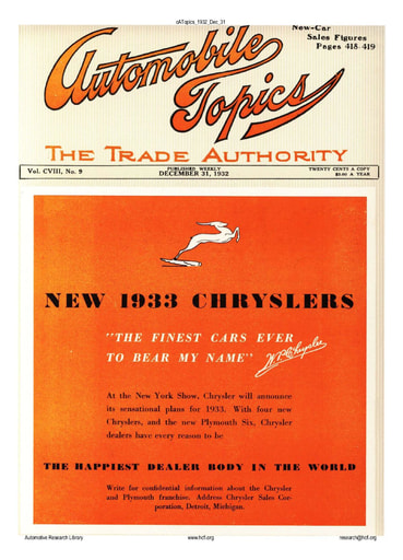 Auto Topics | 1932 Dec 31