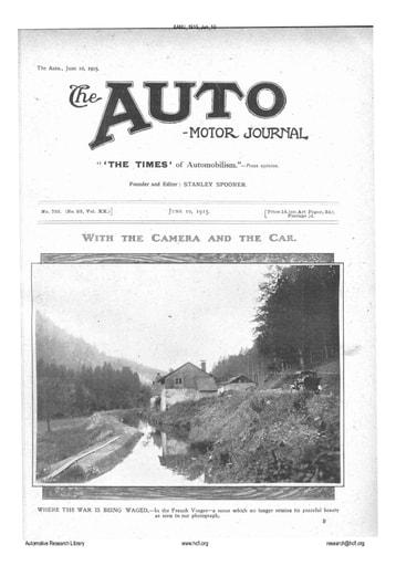 Auto Motor Journal | 1915 Jun 10