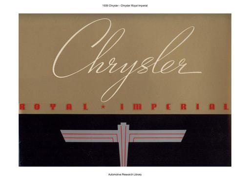 1939 Chrysler   Royal Imperial (44pgs)