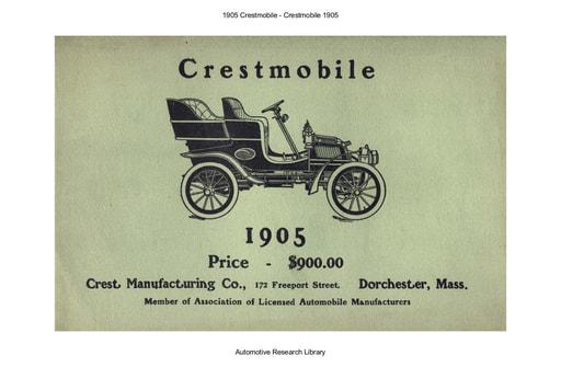1905 Crestmobile (7pgs)
