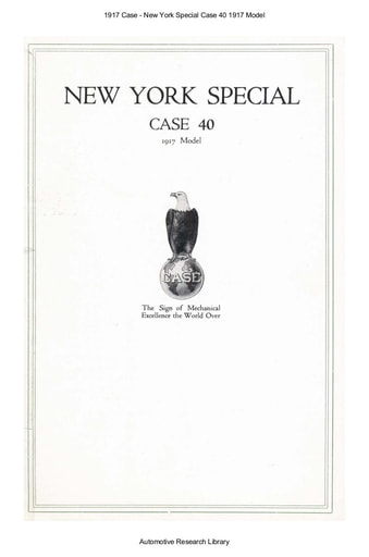 1917 Case   New York Special Case 40 1917 Model (3pgs)