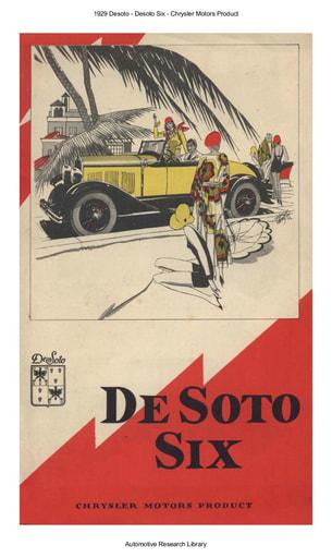 1929 Desoto   Desoto Six (6pgs)