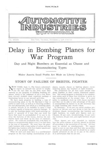 Auto Industries 1918 09 05
