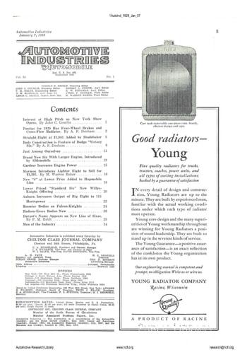 Auto Industries 1928 01 07
