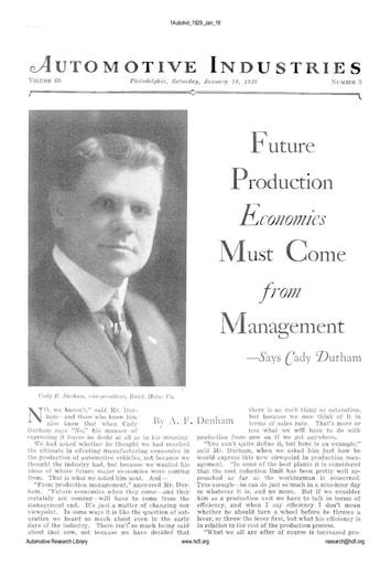 Auto Industries 1929 01 19