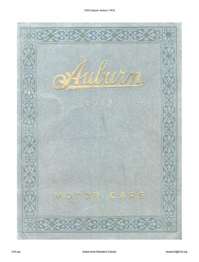 1915 Auburn (24pgs)