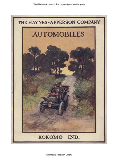 1904 Haynes Apperson Co (33pgs)