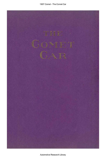 1907 Comet Car (25pgs)
