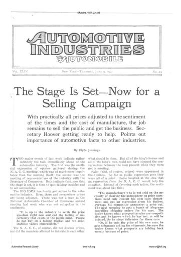 Auto Industries 1921 06 09
