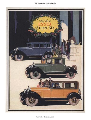 1927 Essex   Super Six (6pgs)
