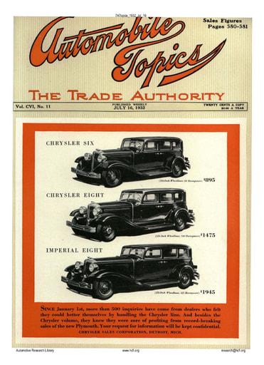 Auto Topics | 1932 Jul 16
