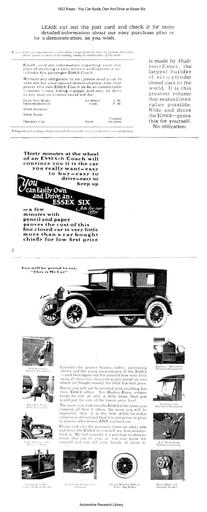 1922 Essex   Six (2pgs)