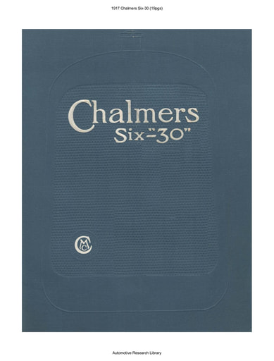 1917 Chalmers Six 30 (19pgs)
