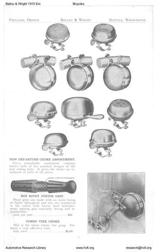 1915 Est Ballou & Wright