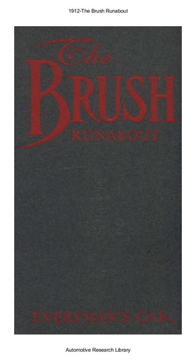 1912 Brush Runabout (17pgs)