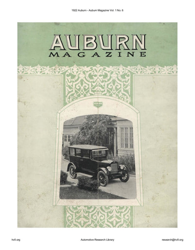 1922 Auburn Magazine Vol  1 No  6 (8pgs)