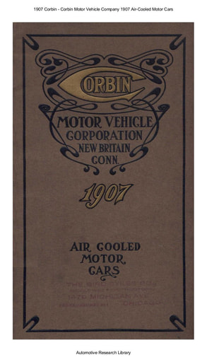 1907 Corbin   Air Cooled Motor Cars (32pgs)
