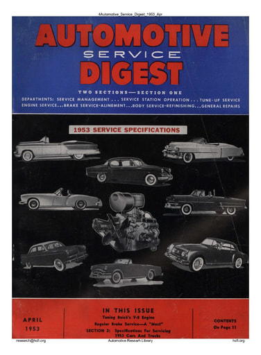 Automotive Service Digest  1953 04 Apr