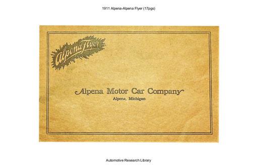 1911 Alpena Alpena Flyer (17pgs)