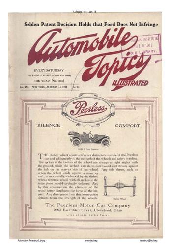 Auto Topics | 1911 Jan 14